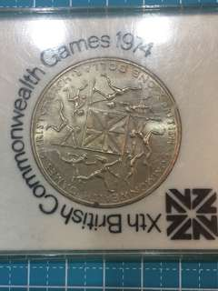 British Xth Commonwealth Game 1974