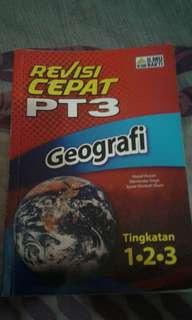 Revisi Cepat PT3 Geografi