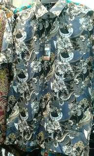 Kemeja batik ready SIZE : M & L