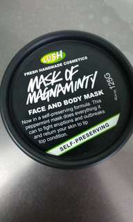 Lush mask of magnaminty self preserving