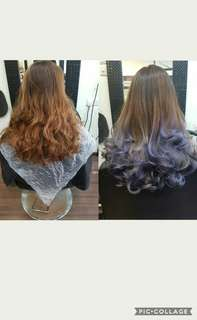 Ombre &treatment