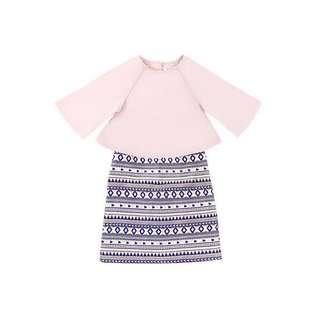 Pokoks The Wau Baju Kurung Modern Pink