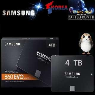 "SAMSUNG 860 EVO 4TB 2.5"" SATA SSD.. ( $1709 Alliance Cheapest...Deal...., Hurry Grab it while Stock Last..)"