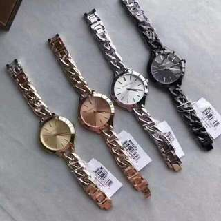 Twisted MK watches