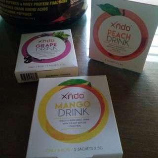 Xndo Drink (Peach, Mango & Grape)