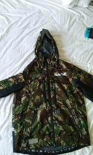 Aape waterproof camo jacket