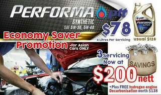 Toyota Cars: PTT Performa x 3 Times Service Package Membership