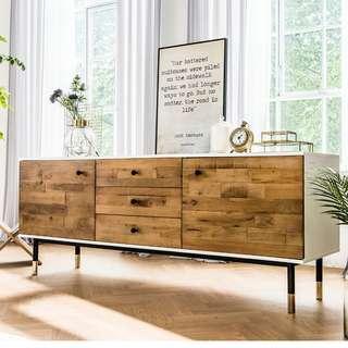 Londoner Kinfolk Industrial TV Cabinet (Sideboard)