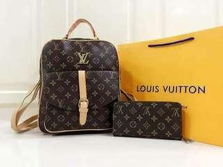 LV Bag pack set