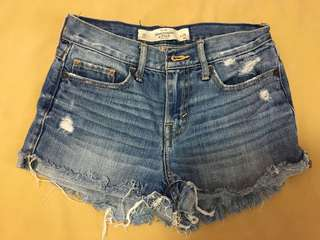 A&F ribbed shorts