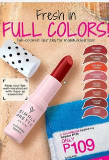 SIMPLY PRETTY COLORBLISS LIPSTICK 4 G