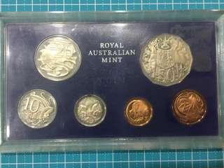 Australia Royal Mint Proof Coin Set Year 1978