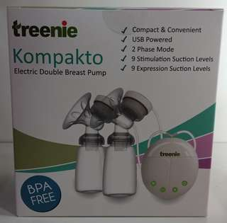 Treenie Kompakto FREE Breastmilk storage 7oz (25pcs)