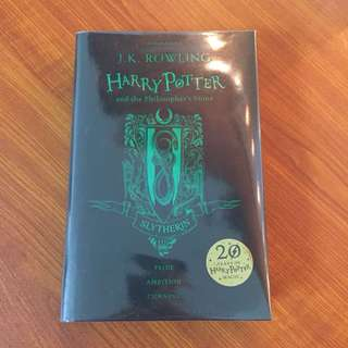Harry Potter and the Philosopher's Stone Slytherin Cover
