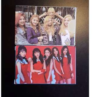 [√] RED VELVET LOMO CARD