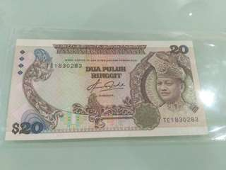 Rm20 Banknote