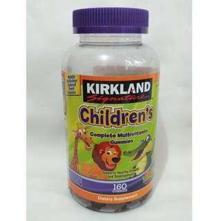 Kirkland Signature 兒童多種維他命橡皮軟糖 160粒