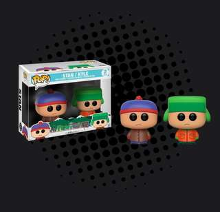 FUNKO POP - SOUTH PARK - STAN & KYLE 2 PACK