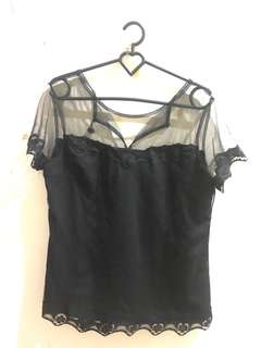 cloth inc lacey top