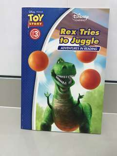 Toy Story - Rex Tries to Juggle