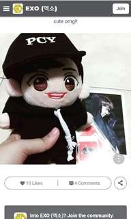 LF for exo chanyeol doll