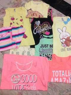 Baju, celana, baju renang