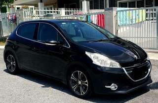 Peugeot 208 sambung bayar