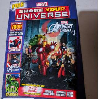 "Special Edition ""Free"" comic books by Marvel/DC"
