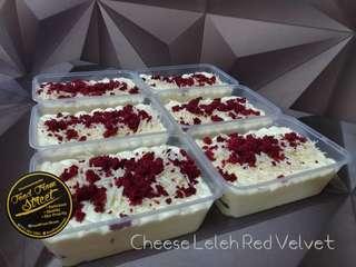 Red Velvet Cheese Leleh