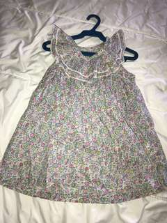 Gingersnaps 18mos Ruffle Floral Dress