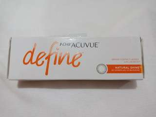 1 Day Acuvue Define (-1.50)(Natural Shine)