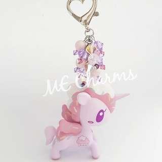 Tokidoki Unicorno iHasCupquake Limited Edition Bag Charms / Fobs
