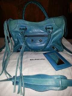 Balenciaga mini sky blue(mirror quality 1:1)