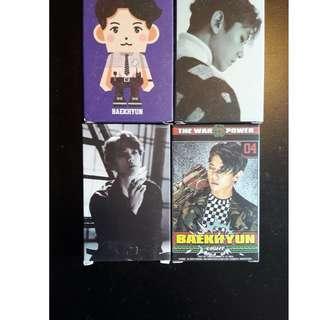 [√] EXO BAEKHYUN LOMO CARD
