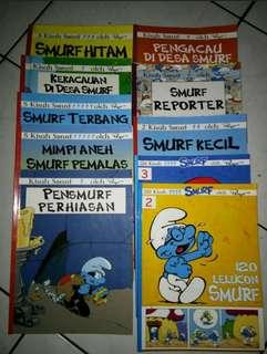 Buku komik smurf