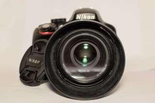 Nikon D3300 with 50mm 1.8G lense