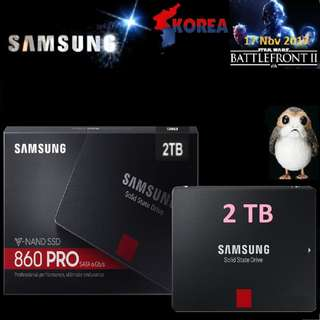 "Samsung 860 PRO 2TB SSD (SATA 6.0Gbps 2.5"")"