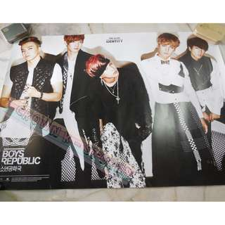 [CRAZY DEAL 90% OFF FROM ORIGINAL PRICE][READY STOCK]BOYS REPUBLIC KOREA OFFICIAL POSTER!!NEW! OFFICIAL ORIGINAL FROM KOREA (SELAED) (PRICE NOT INCLUDE POSTAGE) SHIP USING TUBE