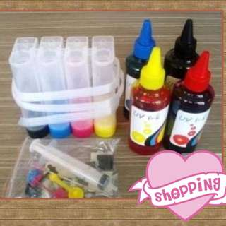 CISS KIT for HP & CANON with ink
