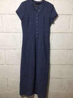 REPRICED‼️Long Navy Blue Dress