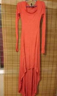 Maxi Dress (Orange)