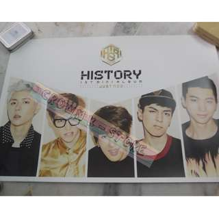 [CRAZY DEAL 90% OFF FROM ORIGINAL PRICE][READY STOCK]HISTORY KOREA OFFICIAL POSTER!!NEW! OFFICIAL ORIGINAL FROM KOREA (SELAED) (PRICE NOT INCLUDE POSTAGE) SHIP USING TUBE