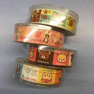 Rilakkuma Decorative Tapes