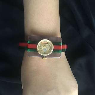 Gucci skeleton / gucci vintage web watch