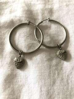 Juicy Couture Hoop Earrings
