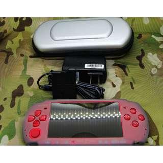 PSP 3007 紅 +8G記憶卡 外觀近全新 已改機 6.61 完整改機