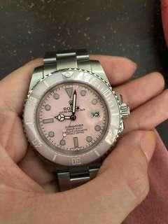 Pink Rolex Submariner