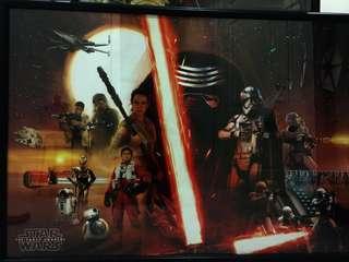 Framed Star Wars Posters