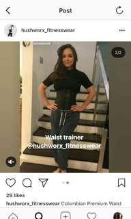 latex premium waist trainer