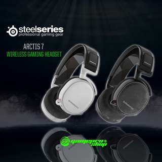 STEELSERIES ARCTIS 7 WIRELESS HEADPHONE- (BLACK AND WHITE)  - 61463 and 61464